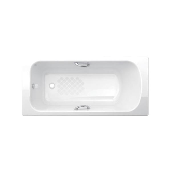 美標 Milano 1.5m 鐵浴缸 帶扶手 BTAS2708 1