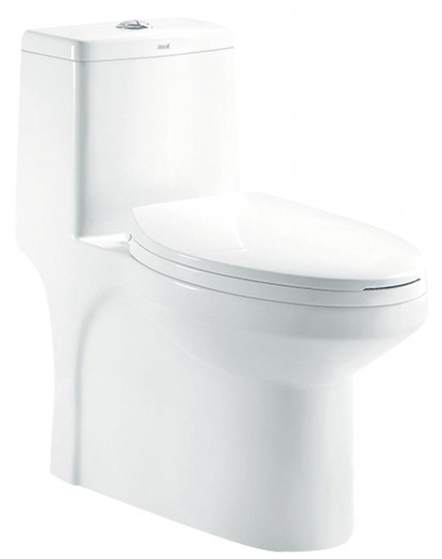 二段式省水單體馬桶 H014130 1